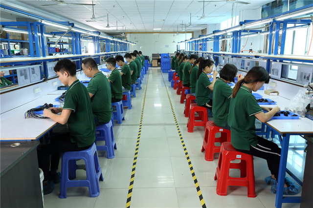 Production Line of Shenzhen Reunion Electronics Co., Ltd.